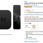 アマゾンでのApple TV 4Kの販売はほぼ確定?USのストアに一時掲載!