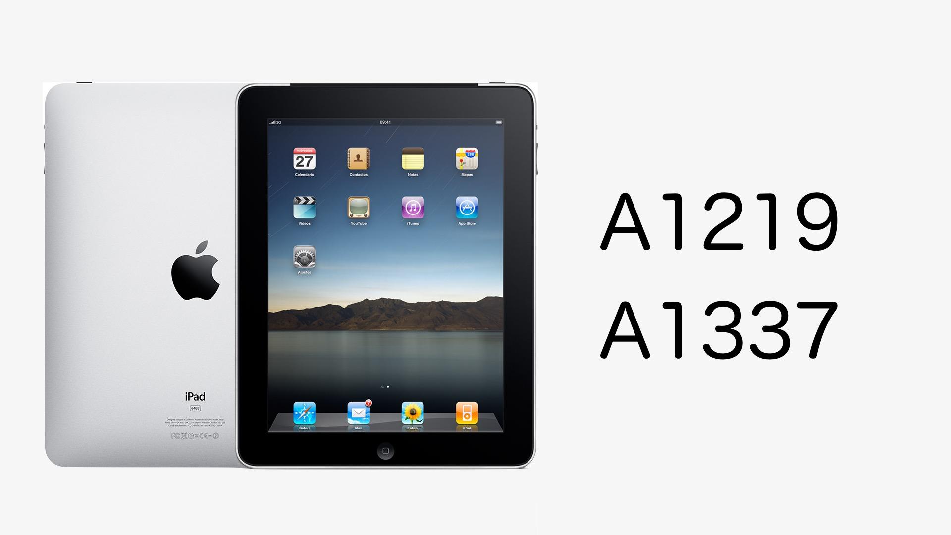 iPad 第1世代 (2010)