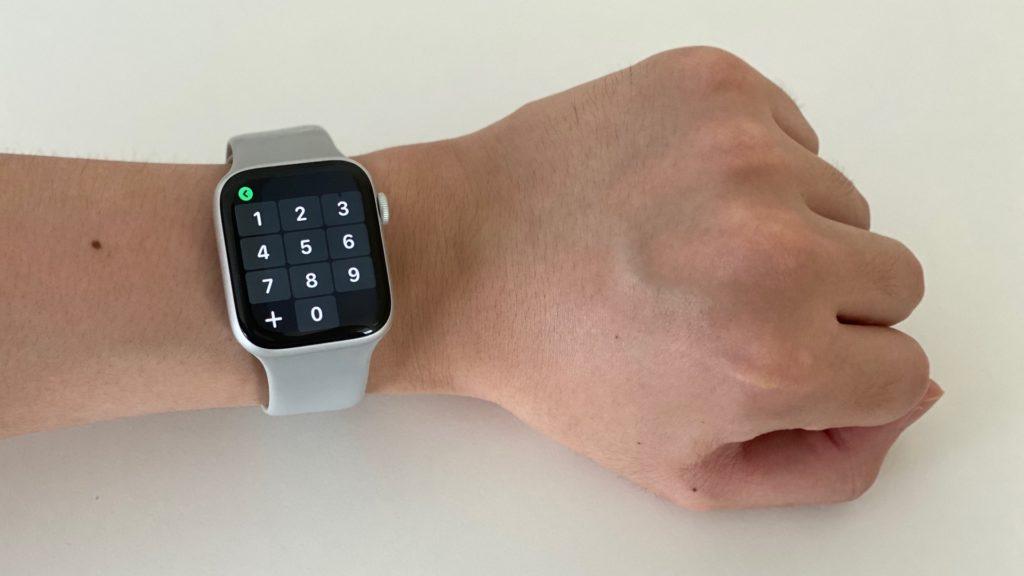 Apple Watch 電話