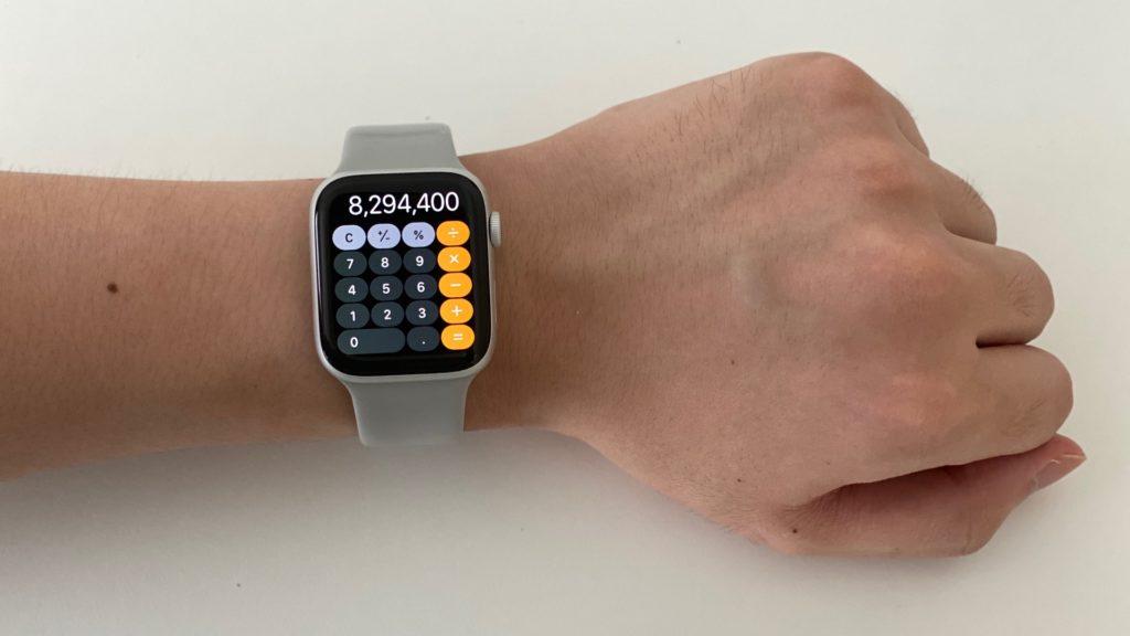 Apple Watch 計算機