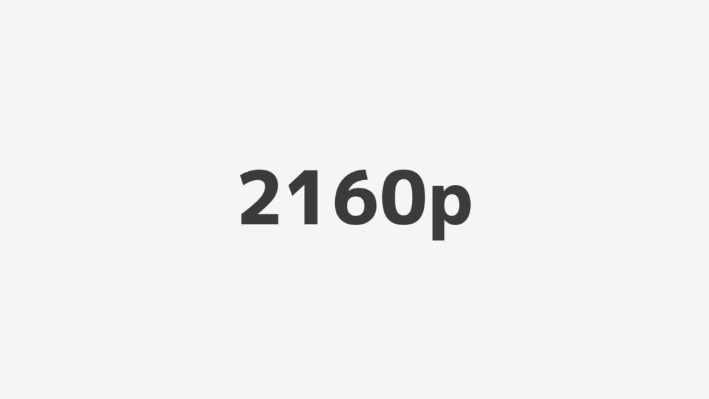 2160p